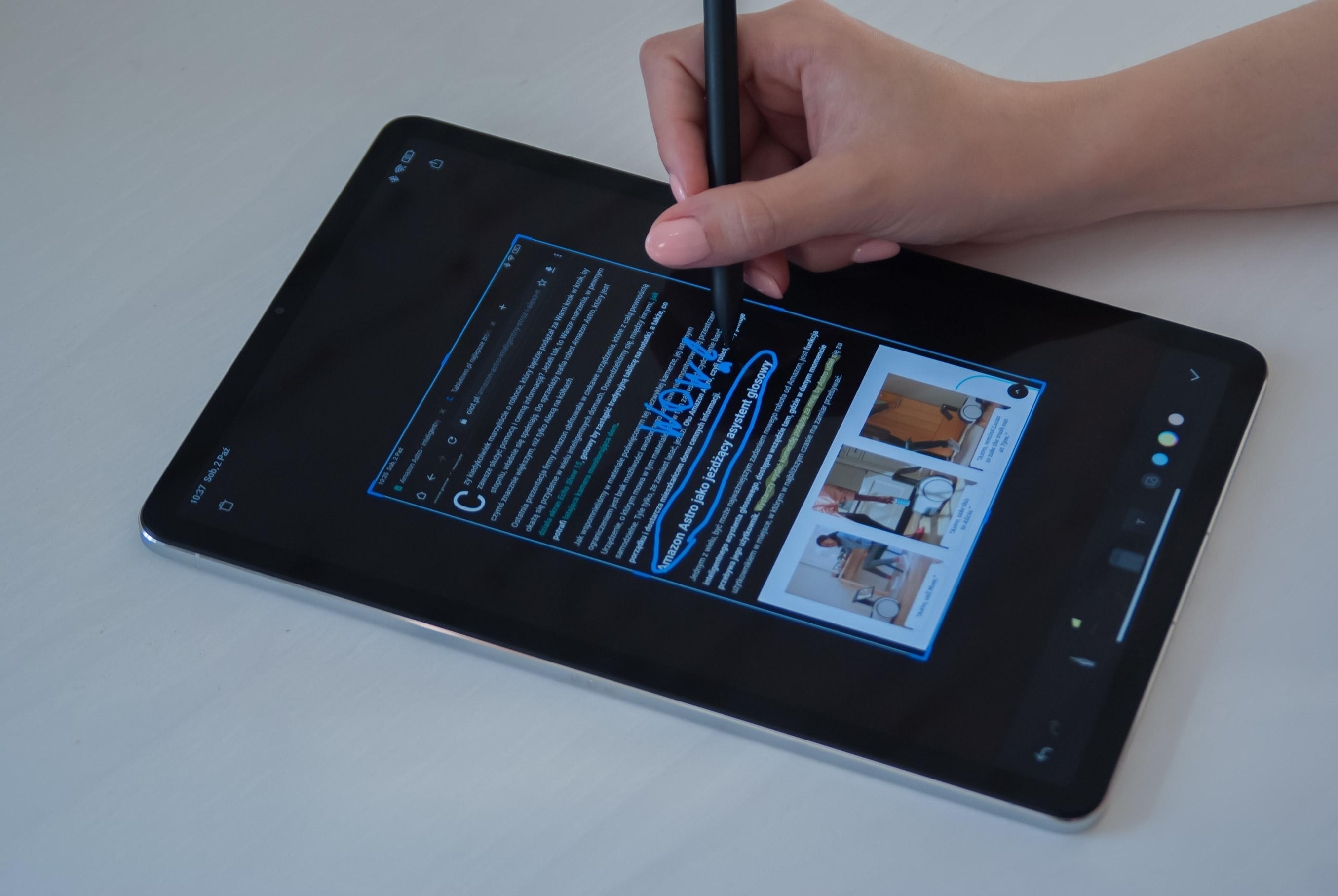Xiaomi Mi Pad 5 Recenzja Xiaomi Smart Pen Tabletowo 11