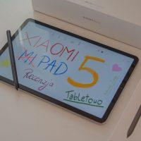 Xiaomi Mi Pad 5 Recenzja Xiaomi Smart Pen Tabletowo