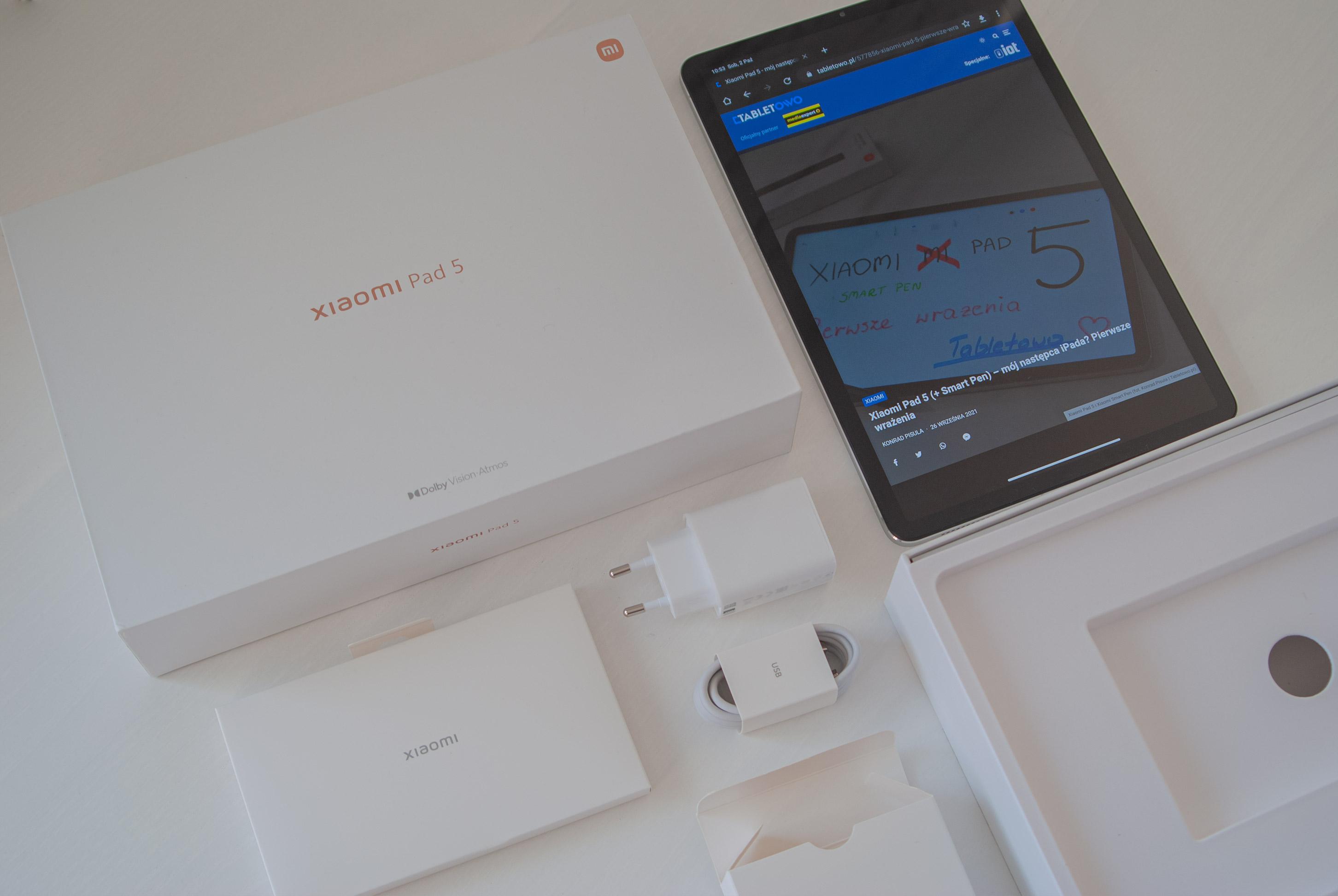 Xiaomi Mi Pad 5 Recenzja Xiaomi Smart Pen