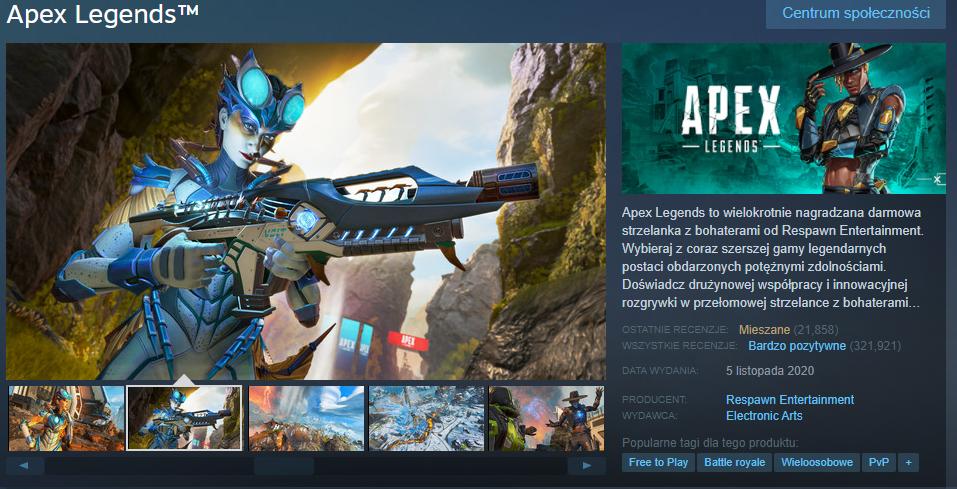 Apex Legends (źródło: Steam)