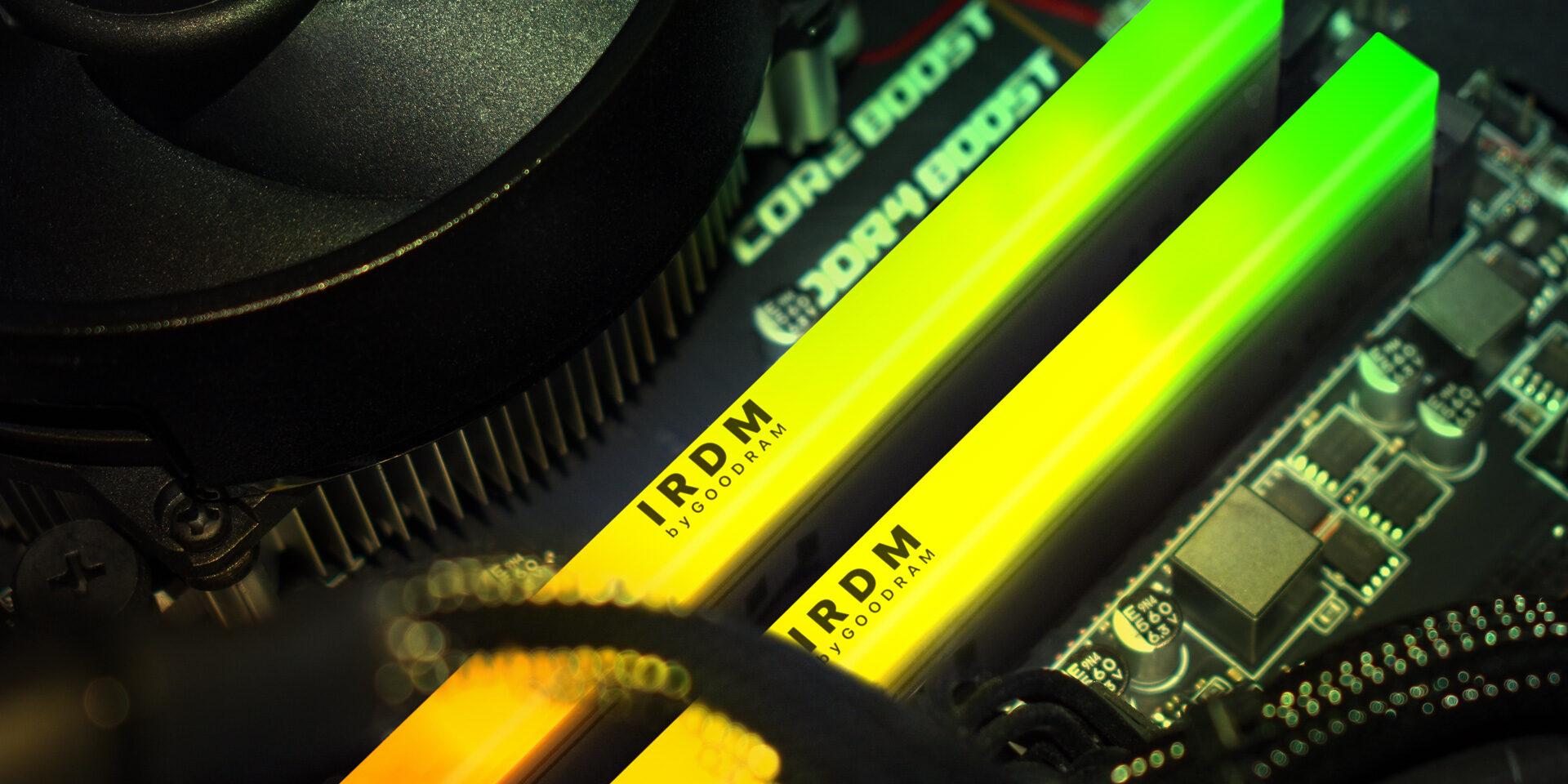 GOODRAM IRDM RGB DDR4 RAM