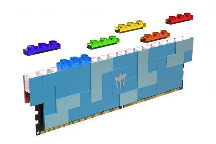 GALAX GAMER DDR5 LEGO niebieski