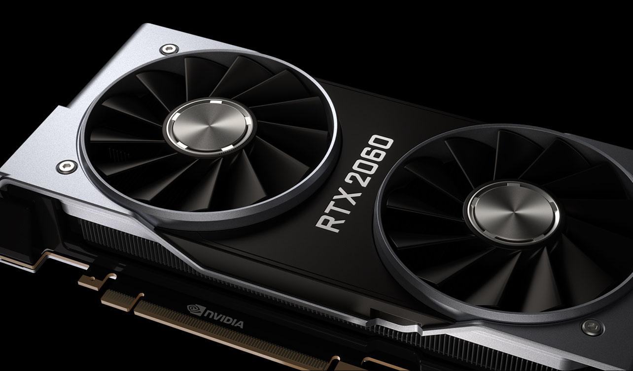 GeForce RTX 2060 Founders Edition GPU