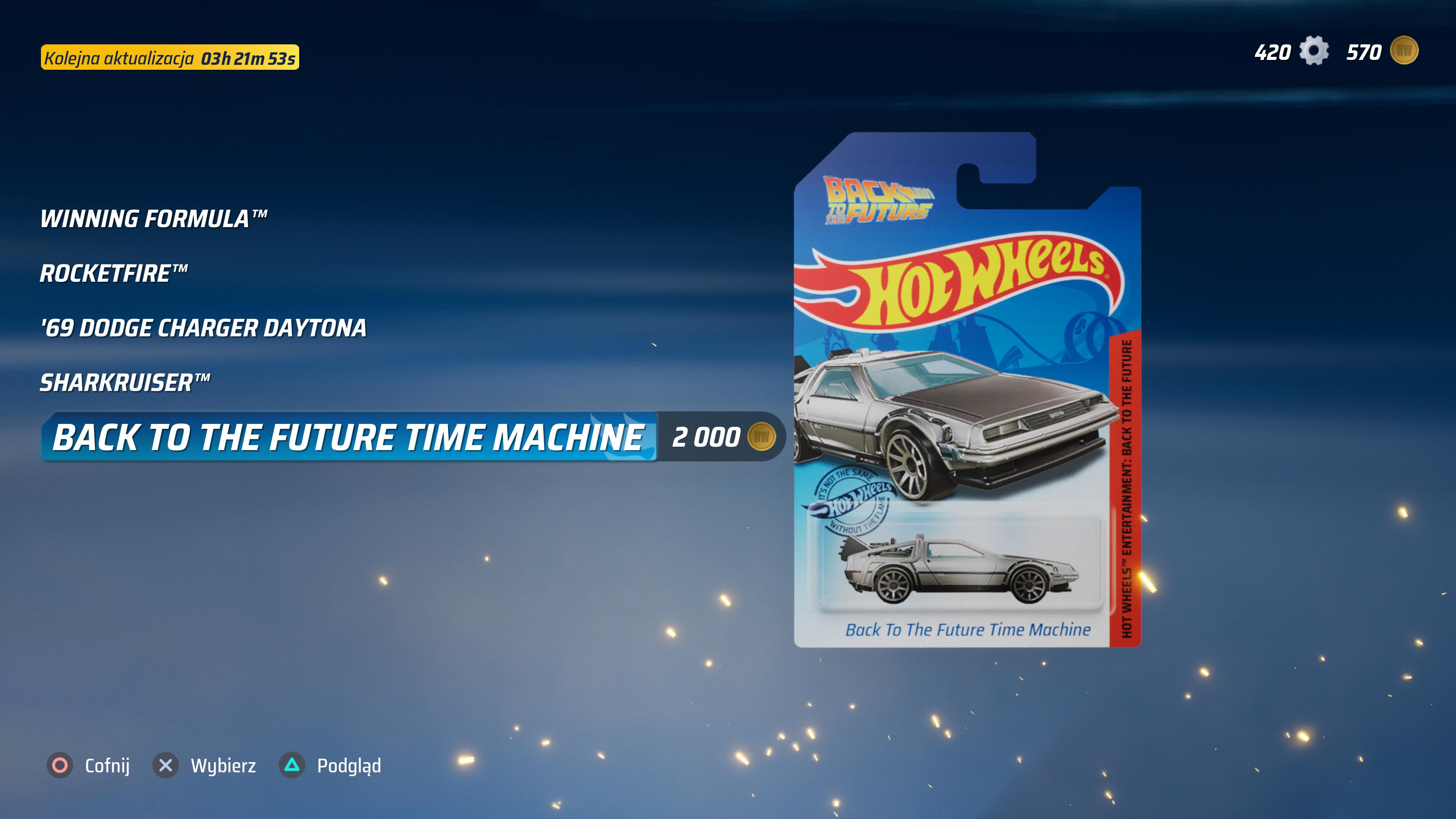 2000 dukatów za Deloreana! Hot Wheels Unleashed wie jak zmusić gracza do grindu