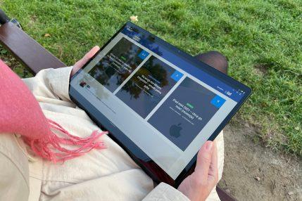 Recenzja Lenovo Yoga Tab 13 - fot. Tabletowo.pl