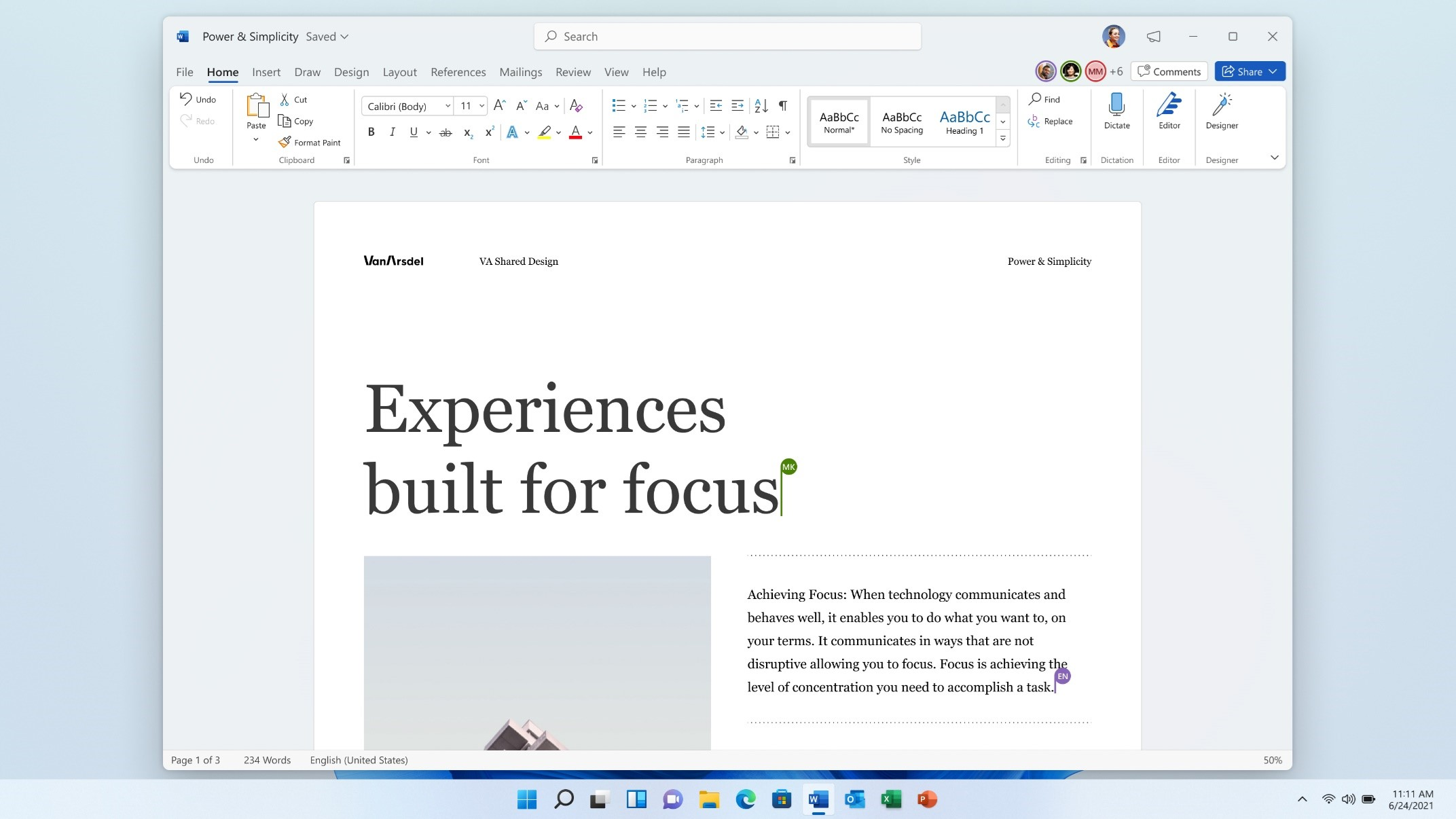 microsoft office 2021 word