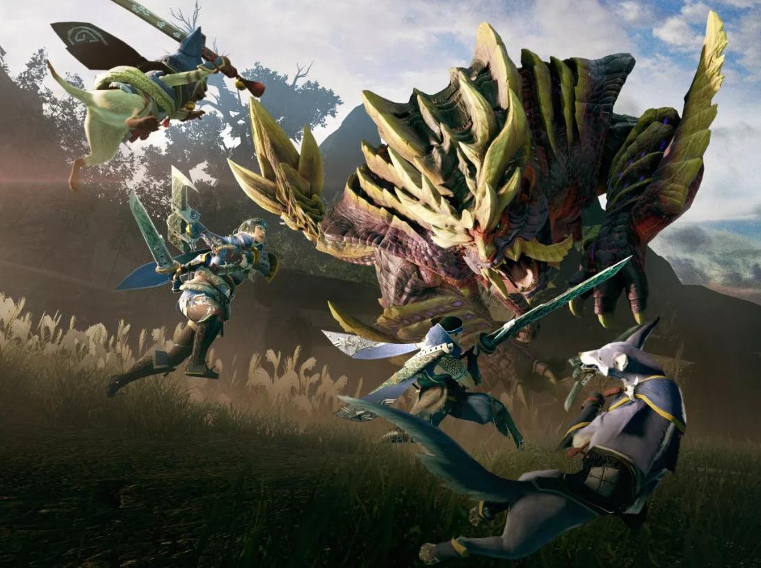 Monster hunter rise (Źródło:Capcom)