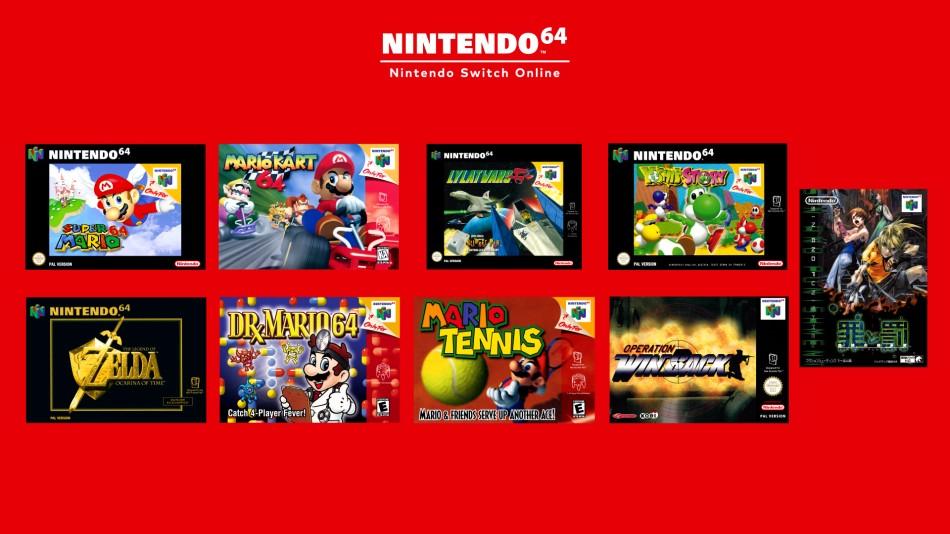 Biblioteka gier z Nintendo 64