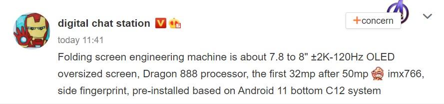 składany smartfon Oppo specyfikacja