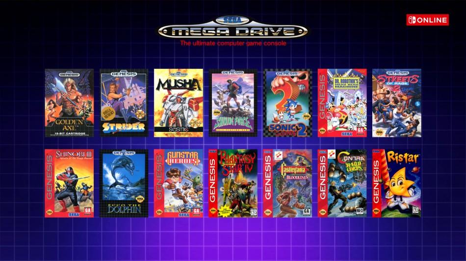 Biblioteka gier z SEGA Mega Drive