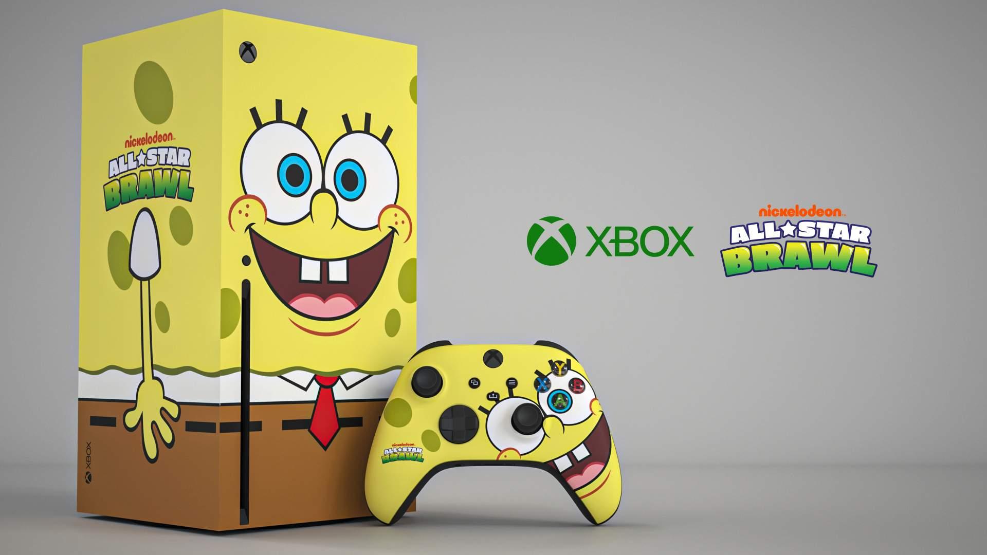 Xbox Series X - Spongebob Kanciastoporty